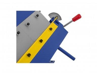 MSW-PBR-610 lakštinio metalo lenkimo įrenginys, segmentinis, 610 mm 3