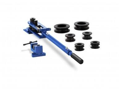 MSW-TRB-200 vamzdžių lenkimo įrenginys, 6 matricos, nuo 8 iki 22 mm, iki 360°