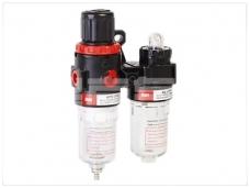 Oro srauto reguliatorius su drėgmės filtru ir tepaline 1/4'', 200 l/min