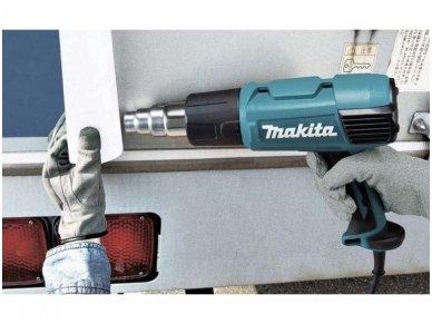 Orapūtė Makita HG6031VK + antgaliai ir lagaminas, 1800W, reguliuojama temperatūra 3