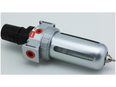 Oro srauto reguliatorius su drėgmės filtru 1/2'', 200 l/min