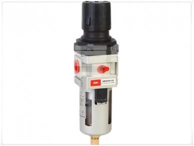 Oro srauto reguliatorius su drėgmės filtru 1/2'', 3000 l/min