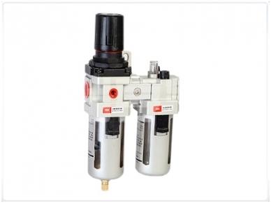 Oro srauto reguliatorius su drėgmės filtru ir tepaline 3/4'', 3000 l/min
