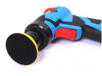 Pneumatinis kampinis šlifuoklis/ polituoklis ekscentrinis 50mm 3