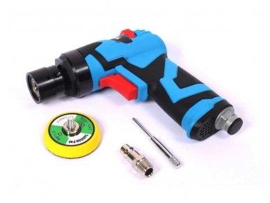 Pneumatinis kampinis šlifuoklis/ polituoklis ekscentrinis 50mm
