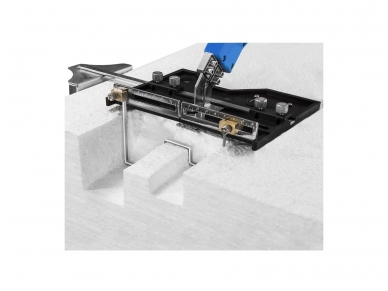 Polistirolo pjaustymo peilis 250W, labai didelis priedų rinkinys 13