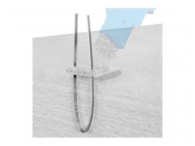 Polistirolo pjovimo peilio ašmenys, plokšti, 305 mm 2