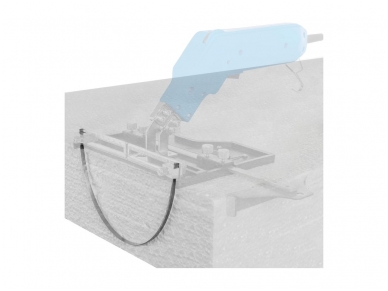 Polistirolo pjovimo peilio ašmenys, plokšti, 305 mm 4