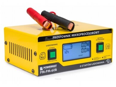 Powermat akumuliatorių įkroviklis 6/24V PM-PM-60B 3