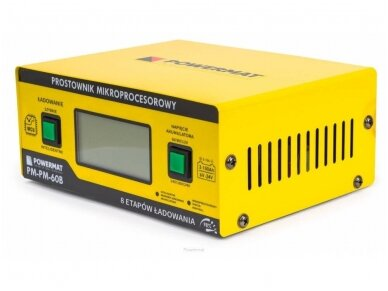 Powermat akumuliatorių įkroviklis 6/24V PM-PM-60B 4