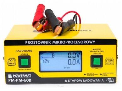 Powermat akumuliatorių įkroviklis 6/24V PM-PM-60B 2