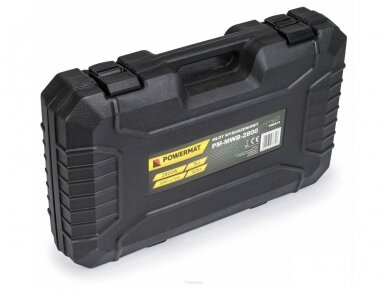 Powermat atskėlimo plaktukas HEX, PM-MWB-2800, 2800W, 15J 8