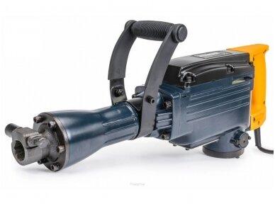 Powermat atskėlimo plaktukas PM-MWB-3000, SDS-HEX, 3000W, 45J 3