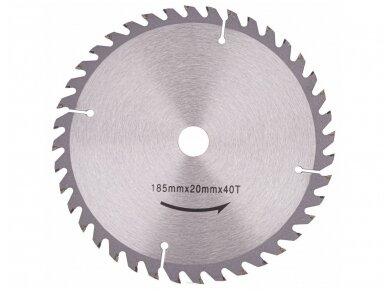 Powermat diskinis pjūklas PM-RPT-2250M, 185mm, 2250W 14