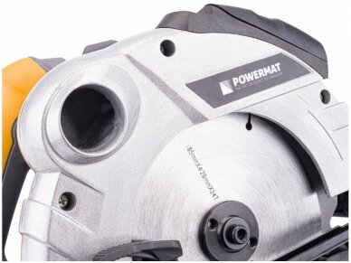 Powermat diskinis pjūklas PM-RPT-2250M, 185mm, 2250W 9
