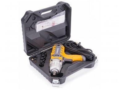 Powermat elektrinis veržliasukis PM-EKU-2100M, 800NM 3