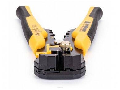 Powermat jungčių užspaudimo ir nužievinimo replės PM-SI-260SU, 260 elementų rinkinys 8