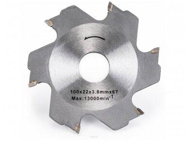 Powermat lamelinė freza PM-FC-1200T, 1200W 8
