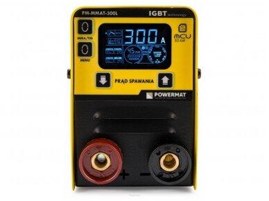 Powermat MMA suvirinimo aparatas PM-MMAT-300L, 300A, 230V 3