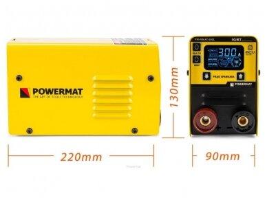 Powermat MMA suvirinimo aparatas PM-MMAT-300L, 300A, 230V 14