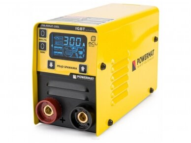 Powermat MMA suvirinimo aparatas PM-MMAT-300L, 300A, 230V 2