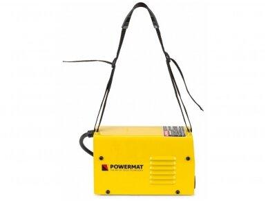 Powermat MMA suvirinimo aparatas PM-MMAT-300L, 300A, 230V 7