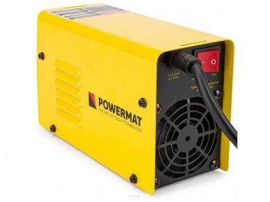 Powermat MMA suvirinimo aparatas PM-MMAT-300L, 300A, 230V 8