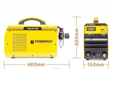 Powermat plazminio pjovimo aparatas PPM-PP-50L, 50A 8