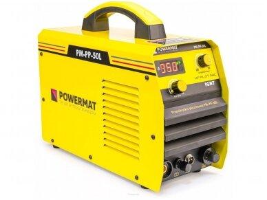 Powermat plazminio pjovimo aparatas PPM-PP-50L, 50A 3