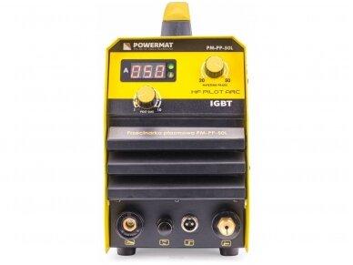 Powermat plazminio pjovimo aparatas PPM-PP-50L, 50A 4