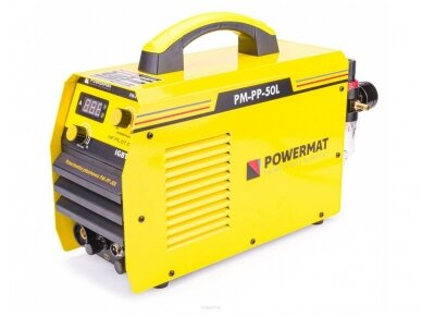 Powermat plazminio pjovimo aparatas PPM-PP-50L, 50A 5