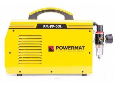 Powermat plazminio pjovimo aparatas PPM-PP-50L, 50A 6
