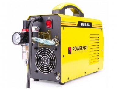 Powermat plazminio pjovimo aparatas PPM-PP-50L, 50A 7