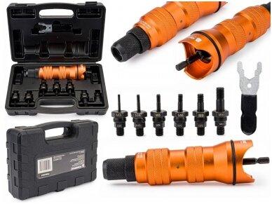 Powermat priedas adapteris gręžtuvui / srieginis kniediklis PM-NIA-6T