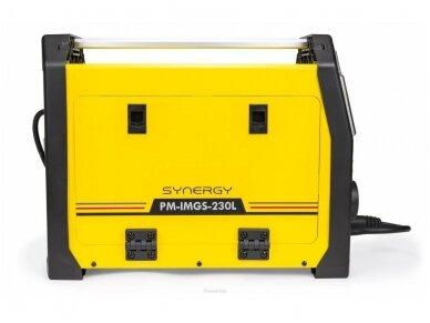 Powermat sinerginis pusautomatis PM-IMGS-230L SYNERGY, 230A, 230V, MIG/MAG/MMA/LIFT-TIG 2