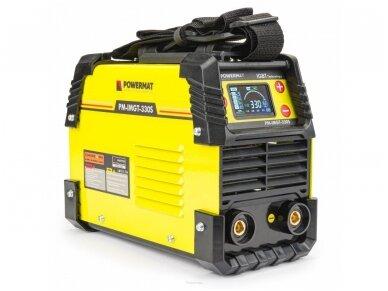 Powermat suvirinimo aparatas MMA PM-IMGT-330S LCD, 330A, 230V 3