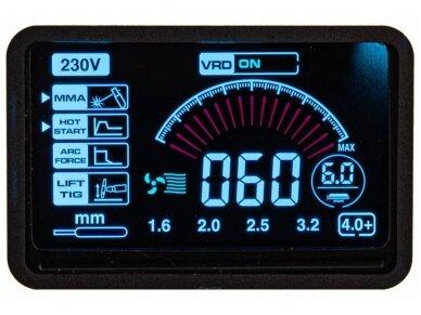 Powermat suvirinimo aparatas MMA PM-IMGT-330S LCD, 330A, 230V 10