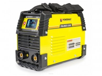 Powermat suvirinimo aparatas MMA PM-IMGT-330S LCD, 330A, 230V 4