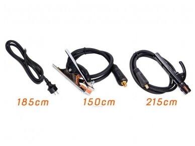 Powermat suvirinimo aparatas MMA PM-IMGT-330S LCD, 330A, 230V 8