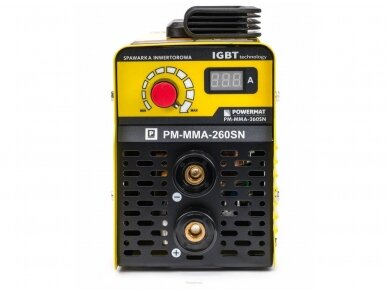 Powermat suvirinimo aparatas MMA PM-MMA-260SN, 260A, 230V 5