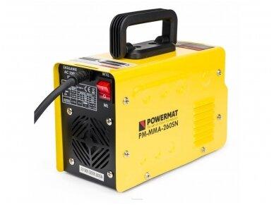 Powermat suvirinimo aparatas MMA PM-MMA-260SN, 260A, 230V 7