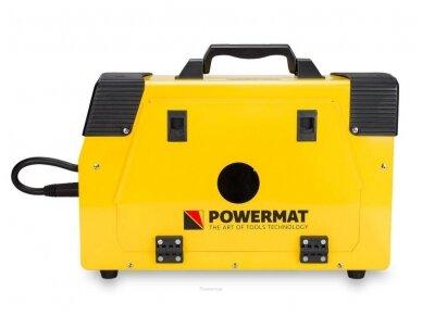 Powermat suvirinimo pusautomatis PM-IMG-220T, 220A, 230V, MIG/MAG/TIG/MMA 6