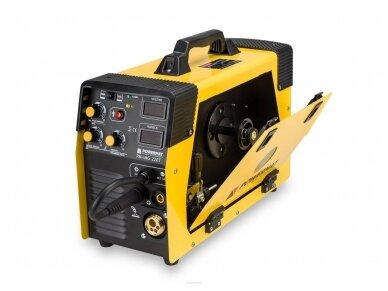Powermat suvirinimo pusautomatis PM-IMG-220T, 220A, 230V, MIG/MAG/TIG/MMA 5