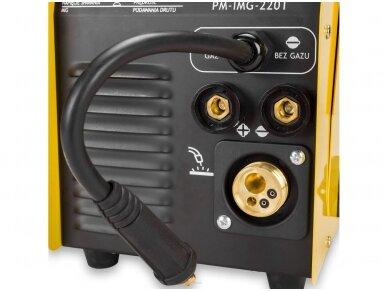 Powermat suvirinimo pusautomatis PM-IMG-220T, 220A, 230V, MIG/MAG/TIG/MMA 8