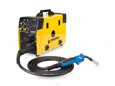 Powermat suvirinimo pusautomatis PM-IMG-220T, 220A, 230V, MIG/MAG/TIG/MMA 2