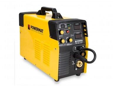 Powermat suvirinimo pusautomatis PM-IMG-220T, 220A, 230V, MIG/MAG/TIG/MMA