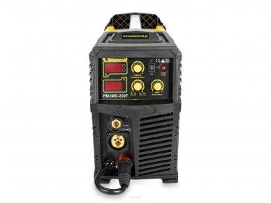 Powermat suvirinimo pusautomatis PM-IMG-230T, 230A, 230V, MIG/MAG/TIG/MMA 4