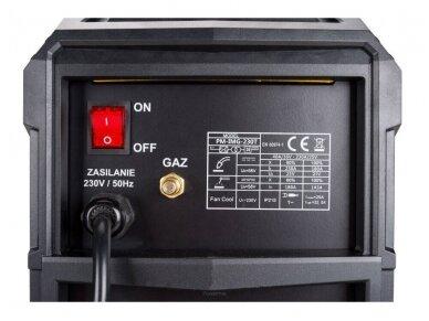 Powermat suvirinimo pusautomatis PM-IMG-230T, 230A, 230V, MIG/MAG/TIG/MMA 9