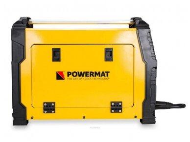 Powermat suvirinimo pusautomatis PM-IMG-230T, 230A, 230V, MIG/MAG/TIG/MMA 6
