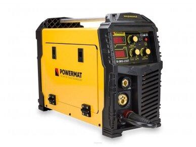 Powermat suvirinimo pusautomatis PM-IMG-230T, 230A, 230V, MIG/MAG/TIG/MMA